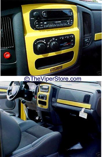 Dodge ram srt10 2004 2006 dash trim accessories - 2004 dodge ram 1500 interior accessories ...