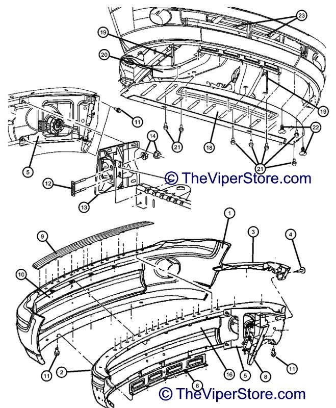 2004 Dodge Ram Parts Diagram