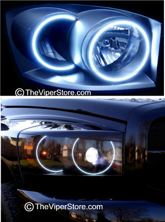 Dodge Ram Srt10 2004 2006 Headlight Accessories And Parts