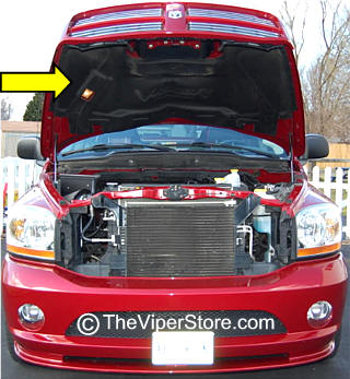 2006 dodge ram srt10 hood