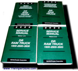 dodge ram srt10 2004 2006 factory service manuals rh theviperstore com 2004 dodge ram 1500 maintenance manual 2004 dodge ram 1500 maintenance manual