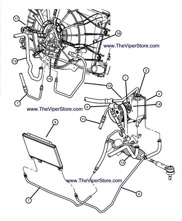 chrysler power steering diagram
