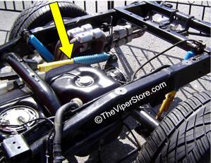 Rear Axle Damper Ram Sr