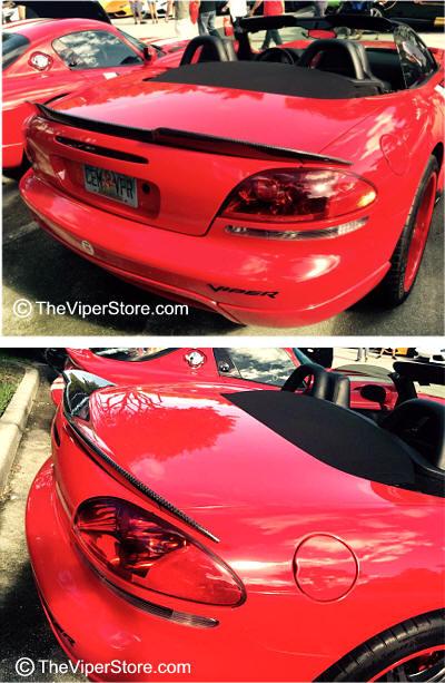 2003-2010 Dodge Viper SRT Style 5pc Rear Wing Spoiler |Viper With Spoiler