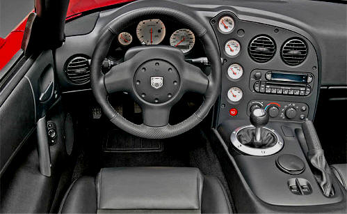 Dodge Viper SRT10 2008, 2009, 2010 Generation 4 Information